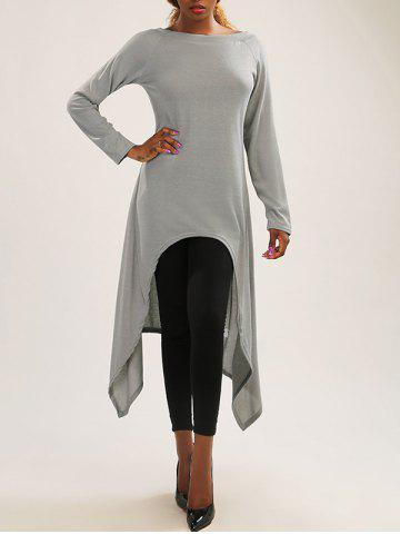 Outfit Asymmetric Long Sleeve Fitting Dress