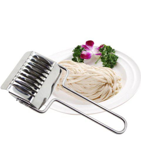 Outfits Stainless Steel Household Handmade Noodles Cutter SILVER