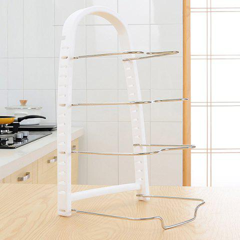 Discount Kitchen Multilayer Dish Pot Storage Rack