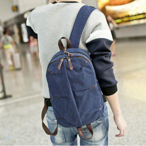 Shop Concsie Zips Canvas Backpack -   Mobile