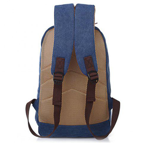 Discount Concsie Zips Canvas Backpack -   Mobile
