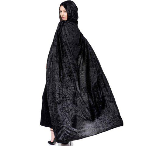 Fashion Halloween Supply Cosplay Party Witch Hooded Cloak Costume