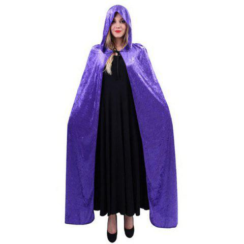 Shops Halloween Supply Cosplay Party Witch Hooded Cloak Costume