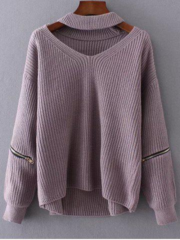Hot Sale: Free Shipping + 58% OFF for Chunky Choker Sweater