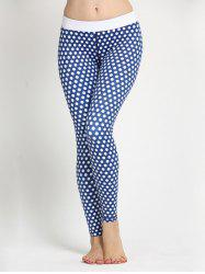 Polka Dot Skinny Yoga Leggings