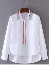 High Low Buttoned Shirt -