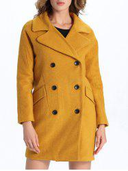 Vintage Double-Breasted Coat -