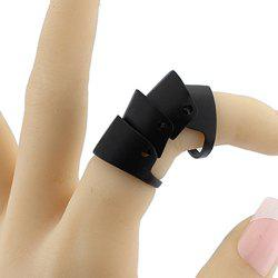 Alloy Elastic Full Finger Ring