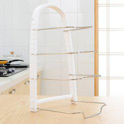 Kitchen Multilayer Dish Pot Storage Rack -