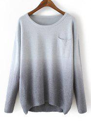 Pocket Ombre Sweater -