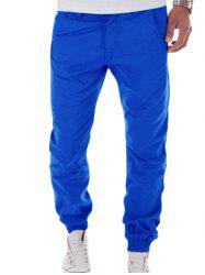 Zipper Fly Big and Tall Chino Jogger Pants