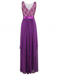 Layered Long Bridesmaid Wedding Formal Maxi Party Dress