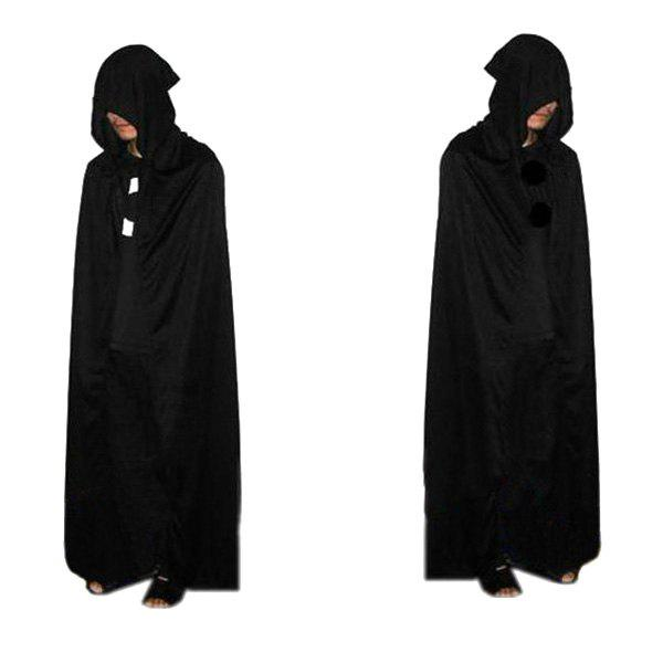 Latest Halloween Supplies Cosplay Party Hooded Death Cloak Costume