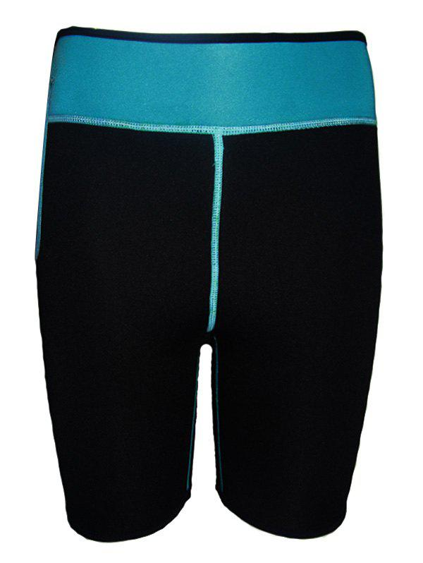 Outfit Color Block Running Sports Leggings