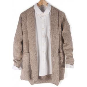 Pocket Front Side Split High Low Cardigan