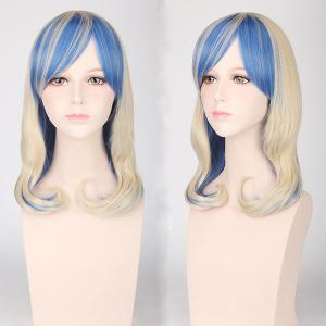 Medium Side Bang Tail Adduction Cosplay Harajuku Lolita Synthetic Wig
