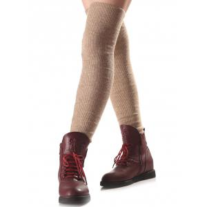 Warm Long Knit Leg Warmers