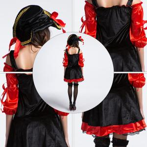 Halloween Party Cosplay Classical Women Pirate Costume -