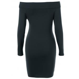 Off The Shoulder Slimming Bodycon Dress -
