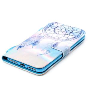 PU Wallet Card Design Aeolian Bell Phone Case For iPhone 7 Plus -