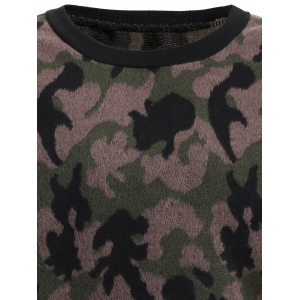 Thicken Camo Pullover Sweatshirt -