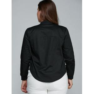 Slim Fit Zip Up Jacket -