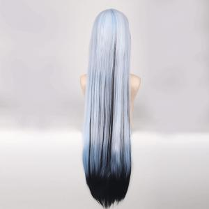 Cosplay Long Side Bang Straight Yuki Onna Nurarihyon No Mago Synthetic Wig -