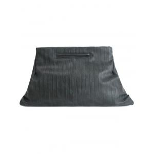PU Leather Dark Color Clutches -