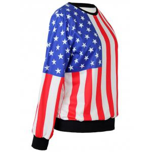 The Stars Stripes Flag Sweatshirt -
