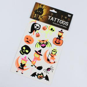 Halloween Supplies Party Decoration 3PCS Luminous Sticker Prop -