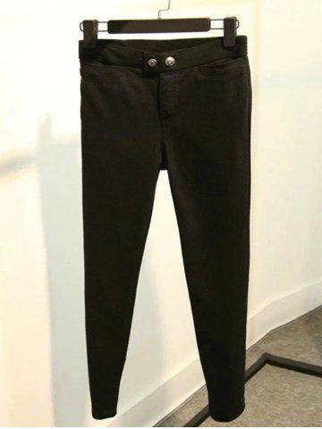Shops Fleece High-Waisted Slimming Ankle Pencil Pants