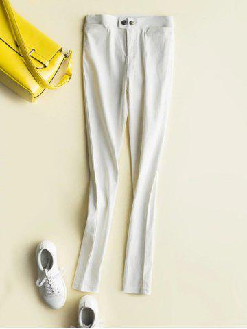 Unique Fleece High-Waisted Slimming Ankle Pencil Pants