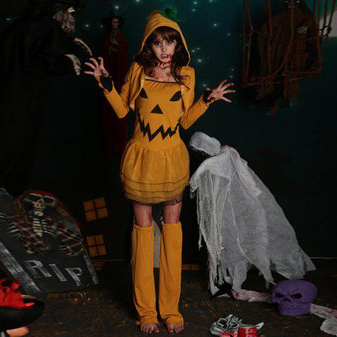 Halloween Party cosplay Pumpkin Costume Sorcière