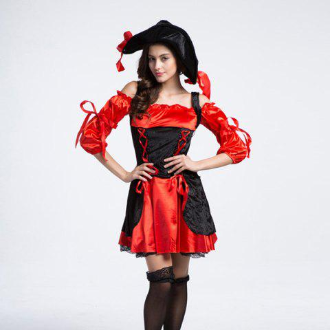 Halloween Party cosplay classique Femmes Costume Pirate