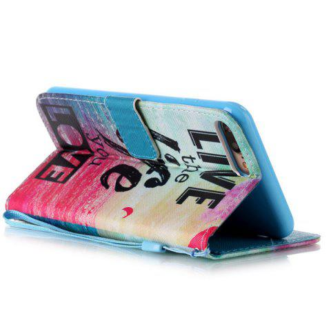 Buy Letter Quote Sea PU Leather Phone Case For iPhone 7 Plus - COLORFUL  Mobile