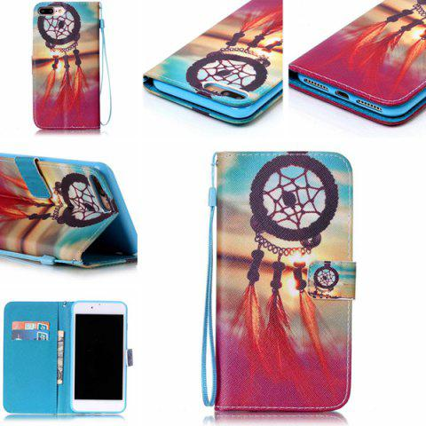 Unique Aeolian Bell Wallet Card with Slot Phone Case For iPhone 7 Plus