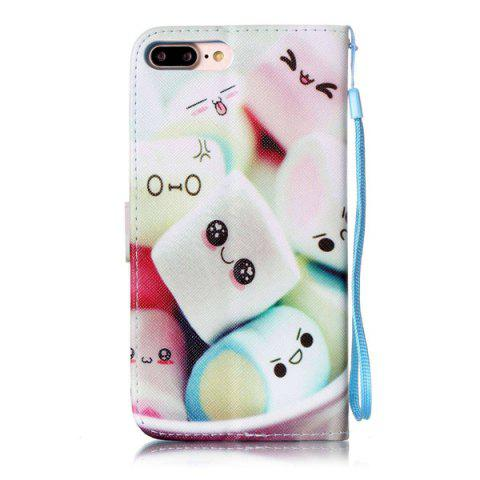 Affordable Cartoon Bun PU Leather Wallet Design Phone Case For iPhone 7 Plus - COLORMIX  Mobile