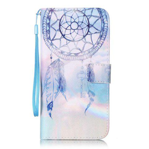 Affordable PU Wallet Card Design Aeolian Bell Phone Case For iPhone 7 Plus - COLORMIX  Mobile