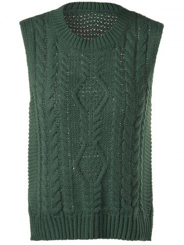 Best Cable-Knit Sleeveless Textured Knitwear