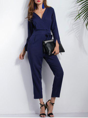 Outfit Long Sleeve Wrap Ninth Jumpsuit