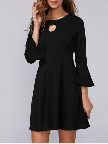 Outfit Flounce Flare Sleeve Dress