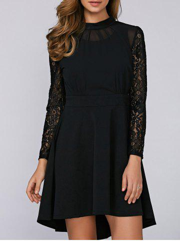 Affordable Asymmetrical High Low Dress