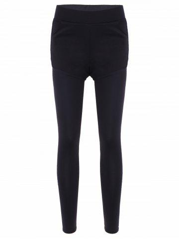Outfit Slim Pockets Fake Twinset Leggings