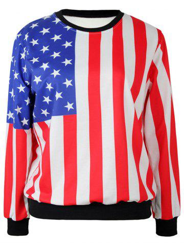 Online The Stars Stripes Flag Sweatshirt