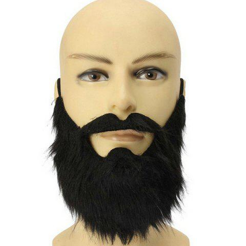 Best Halloween Party Supplies False Beard Cosplay Prop Decoration BLACK