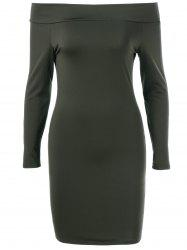Off The Shoulder Slimming Bodycon Dress