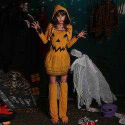 Halloween Party Cosplay Pumpkin Witch Costume -