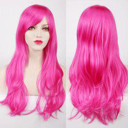 Multicolor Long Side Bang Layered Tail Adduction Cosplay Lolita Synthetic Wig - ROSE MADDER