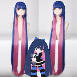 Cosplay Long Full Bang Straight Stocking Sailor Moon Synthetic Wig -