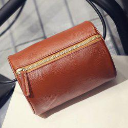 Cylinder Shaped Mini Crossbody Bag